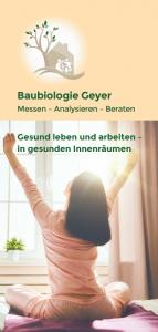 Flyer Baubiologie Geyer